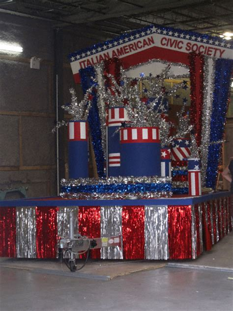 new year parade float display and fireworks float ideas 4 the 24 of july on cardboard