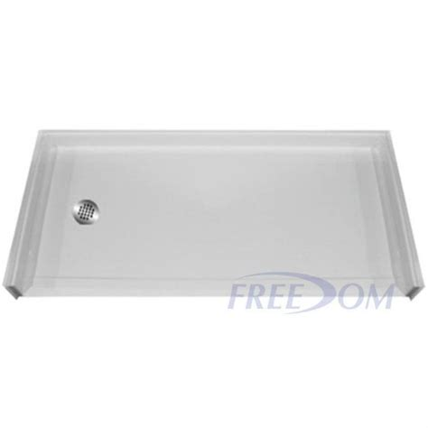 Handicap Shower Pan by Freedom Handicapped Accessible Shower Pan Left Drain 60