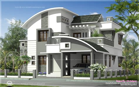 Home Design Samples For India by 2200 Sq Ft Modern Villa Exterior Home Kerala Plans