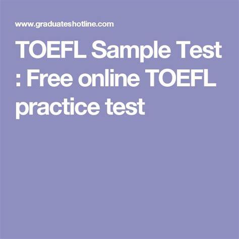 toefl speaking section practice online toefl sle test free online toefl practice test free