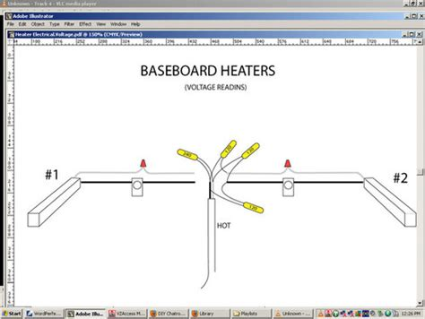 fahrenheat baseboard heater wiring nph4ab fahrenheat electrical wire diagram 28 images