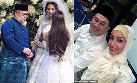 moscow converts  islam  marry malaysian king