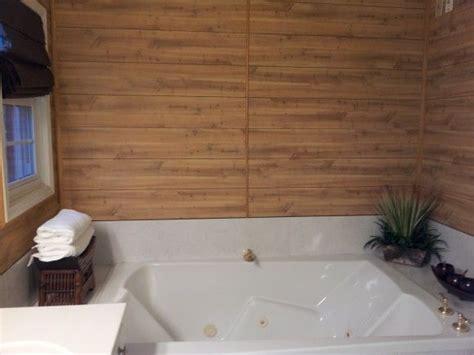 diy bathtub surround wood wall garden tub surround crafts diy pinterest