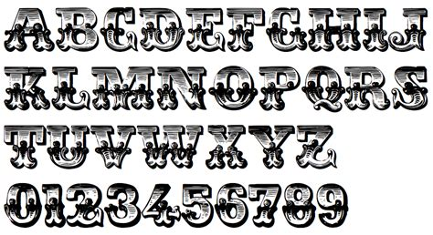 free printable victorian letters 8 best images of western style lettering victorian