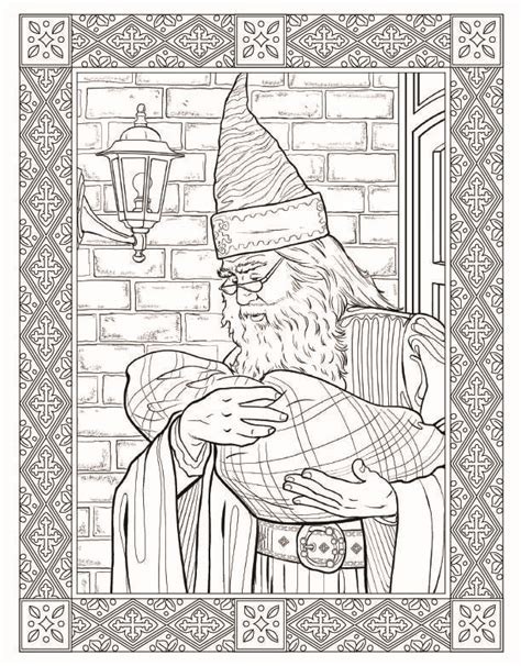 harry potter coloring book look inside here s a look inside the quot harry potter quot coloring book