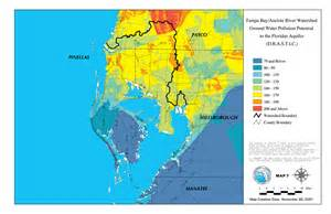florida watershed map ta bay anclote river watershed ground water pollution