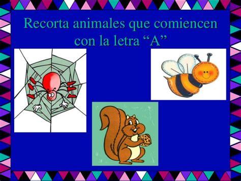 imagenes de animales que empiezen con la letra d la letra quot a quot
