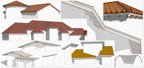 Complex Hip Roof Instant Roof Nui Sketchup Extension Warehouse