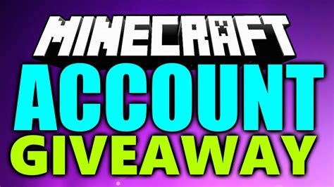 Minecraft Giveaway - minecraft account giveaway 2016 open how to get a free minecraft premium account