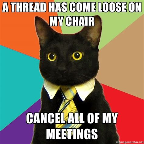 business cat via meme generator fun pinterest