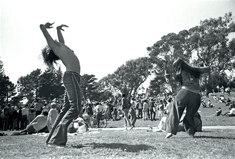 the golden sixties style cheap things to do in golden gate park illustrated with
