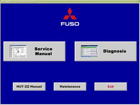 Mitsubishi Software fuso mut iii diagnostic software diagnostics