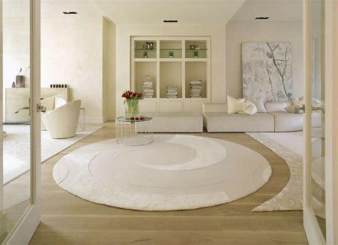 tapis rond de salon tapis de salon moderne 42 id 233 es qui vont vous charmer