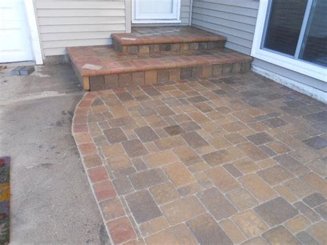 Patio Pavers Minnesota Paver Driveway Radiant Heat Contractor Minneapolis Mn