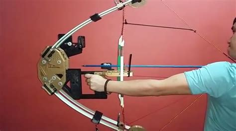 Compound Bow Giveaway - new 3d printed vincy compound bow prototype hits the mark for fun 3dprint com the