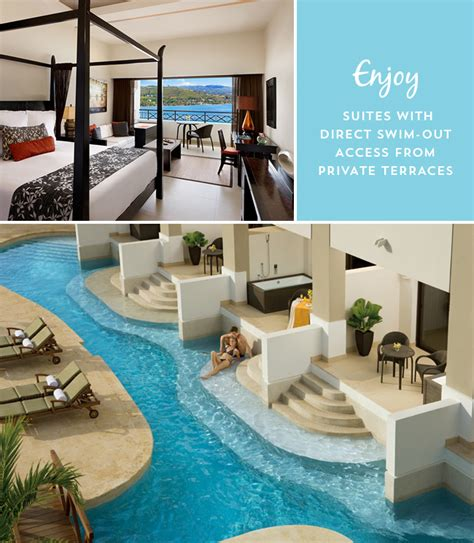 all inclusive resorts with swim out rooms honeymoon at secrets orchid montego bay in jamaica green wedding shoes weddings