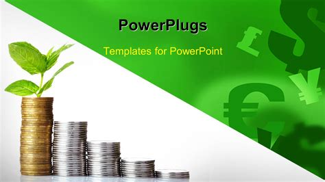 Powerpoint Template Currency Symbols In Background With Financial Coin Chart 14450 Powerpoint Challenge Coin Template