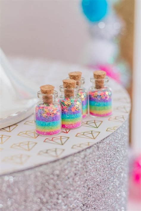 magical unicorn inspired home decor ideas magic of a unicorn medium jars pastel rainbow stars