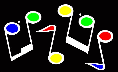 music notes clipart motion pencil and in color music