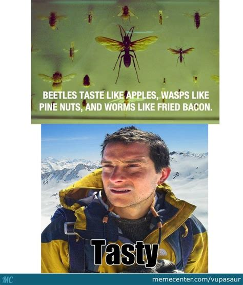 Bear Grylls Blood Meme - bear grylls type of food by vupasaur meme center