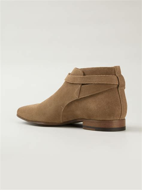 Handmade Ankle Boots - handmade ankle boots beige suede boots for