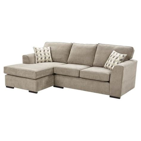 Buy Boston Left Corner Chaise Sofa Taupe From Our