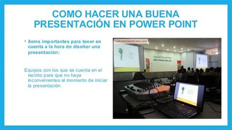 Como Hacer Una Presentacion En Powerpoint | como hacer una buena presentaci 243 n en power point