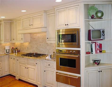 painted glazed cabinets