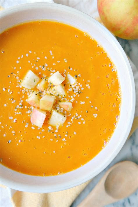 The Glowing Fridge Detox Soup by Cleansing Carrot Autumn Squash Soup The Glowing Fridge