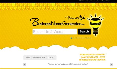 business creator 6 awesome free business name generators