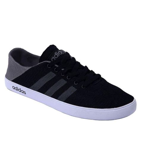 adidas neo black casual shoes   snapdeal  rs