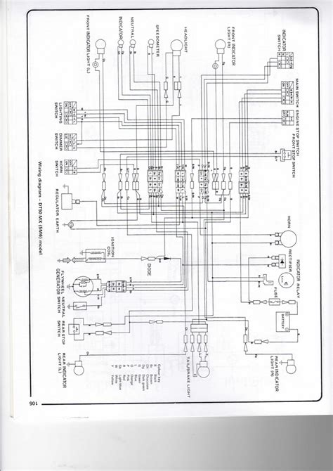 yamaha dt 125 wiring diagram wiring diagram with description