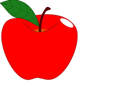 apple clipart apple 1 clip at clker vector clip