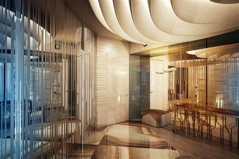 miroir plafond chambre int 233 rieur design salon chambre 224 coucher et salle de bains