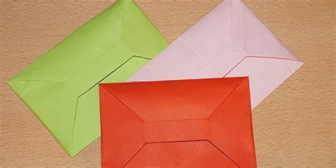 How To Make A Package Out Of Paper - how to make an envelope out of a4 paper a simple way to