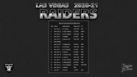 las vegas raiders wallpaper schedule