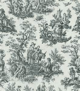 Colonial Upholstery Fabric Waverly Home Decor Print Fabric Rustic Toile Black Jo Ann