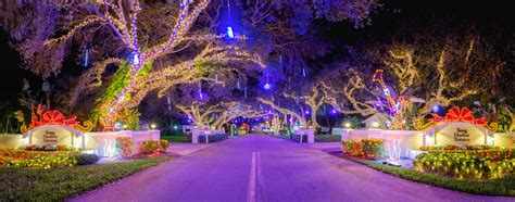 xmas lights in miami dade county snug harbor lights 2016 palm county florida