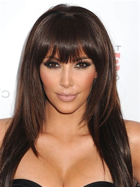hairstyle with a few bangs hairstyles with bangs celebrity hairstyles globezhair