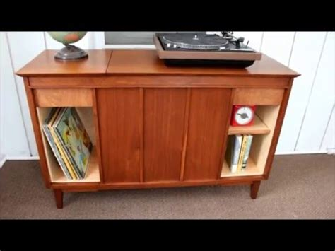 vintage stereo cabinet repurposed vintage stereo cabinet refinish repurpose