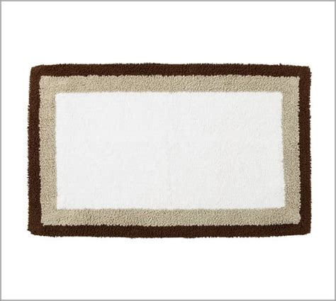 pottery barn bathroom rugs plaza bath rug pottery barn