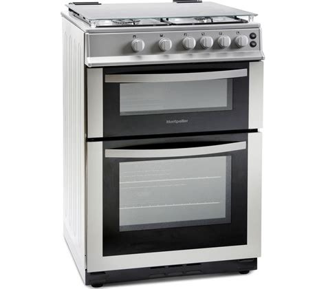 Oven Gas Ukuran 60 Cm buy montpellier mdg600ls 60 cm gas cooker silver free