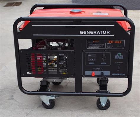 mobile portable gasoline generator 3kw 8 5kw 10kw