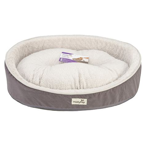 trusty pup dog bed trustypup cuddlecrib 26 quot pet bed