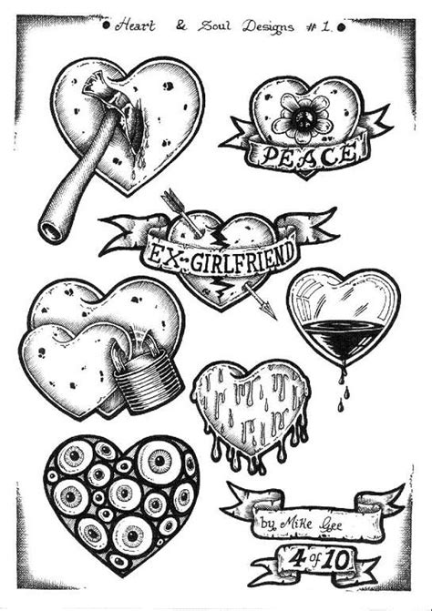 tattoo flash 3 by mikegee777 on deviantart