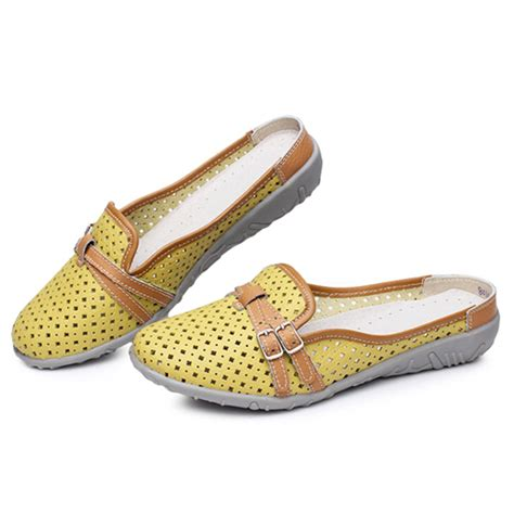 Flat Shoes Dm 98 1 slipper sandals flats shoes comfortable soft casual hollow out flats us 32 36