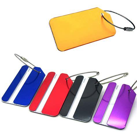 Special Name Tag Bag Tas Koper Luggage Tag Terlaris name tag tas koper aluminum silver jakartanotebook