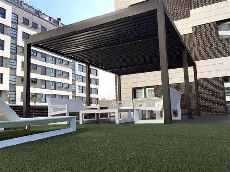 pergola per terrazzo foto pergola bioclimatica per il terrazzo di rossella