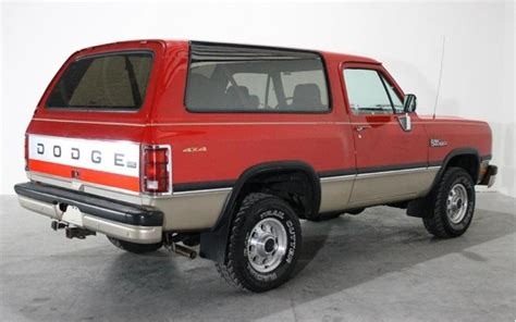 accident recorder 1993 dodge ramcharger transmission control 1993 dodge ramcharger red 200 interior and exterior images