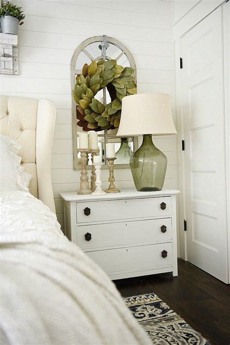 horn white nightstand makeover bedroom night stands